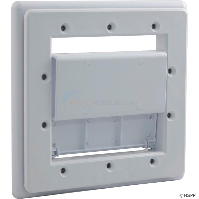 SAFETY FACE PLATE KIT, DSF WHITE