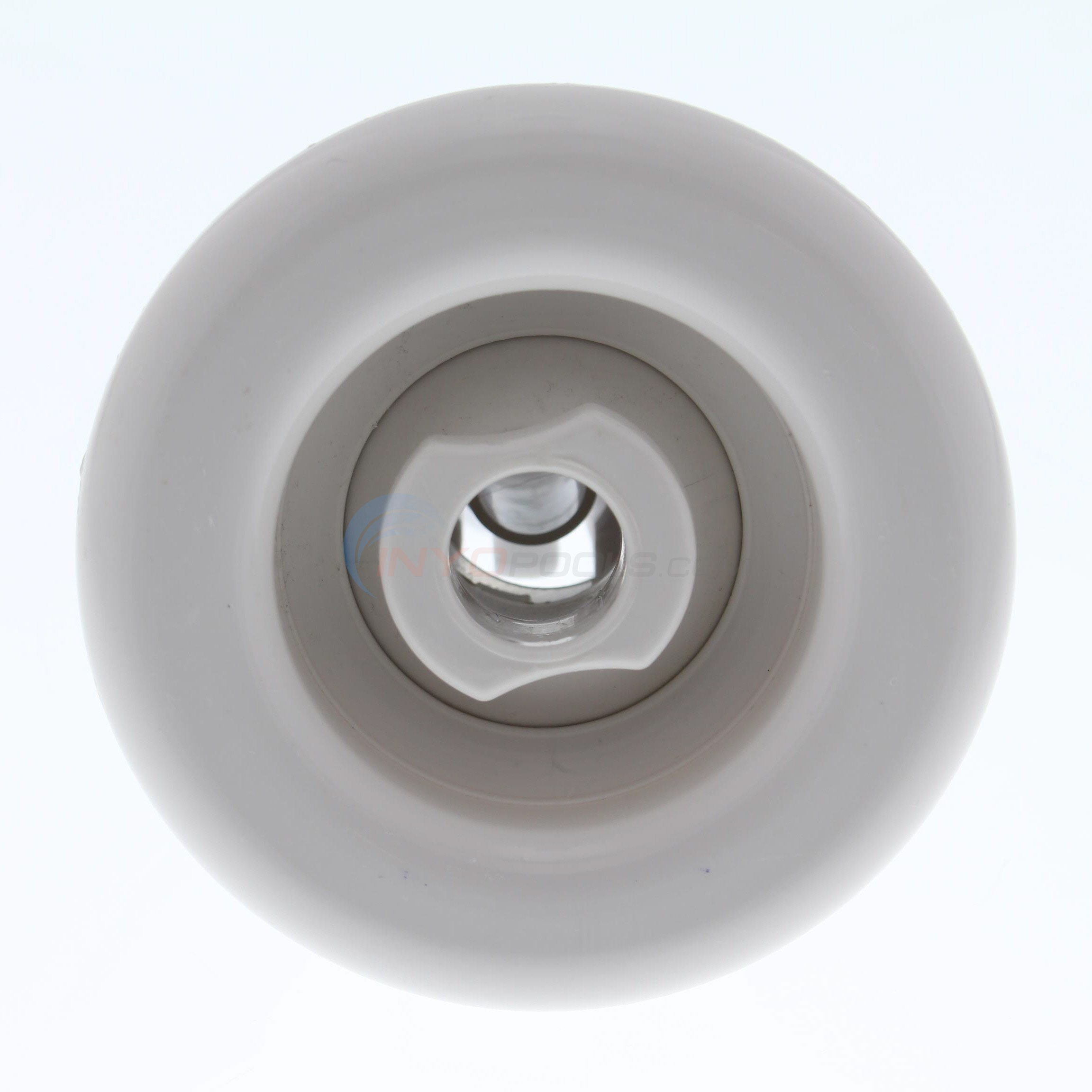 "Adjustable Poly Storm Jet Internal Directional 3-3/8"" Smooth Snap-In White - 212-8040"