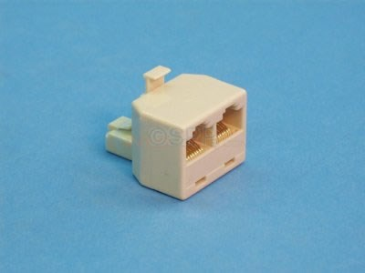 Modular Jack, 2 to 1 Adapter - 22174
