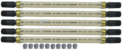 Stenner #5 Pump Tube Assembly w/Ends 45-5 (pkg 5) (mccp205)