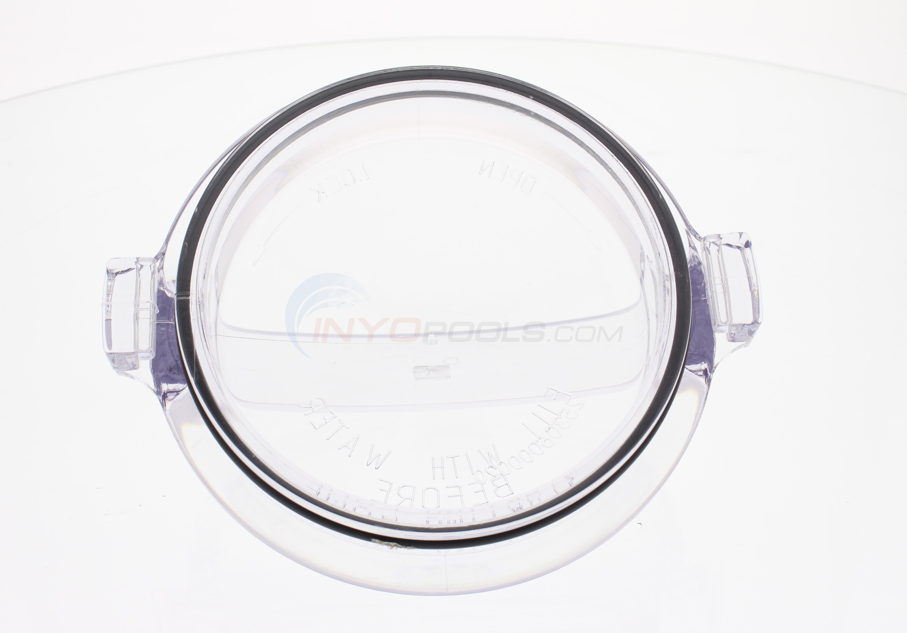 Custom Molded Products Generic - Cover, Strainer, Clear Lexan With O-ring (spx1500d2a) - SPX1500D2A-GENERIC