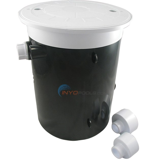 Custom Molded Products Auto Water Leveler Round Black Lid - 25504-104-000