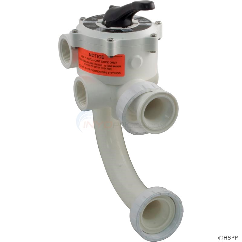 Sta-Rite 1.5 in. Multiport Valve for D.E and Sand - 182020150