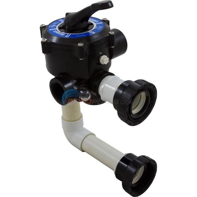"Waterco Side Mount Multiport Valve 1-1/2"",W/2""Connections - 2290491P"