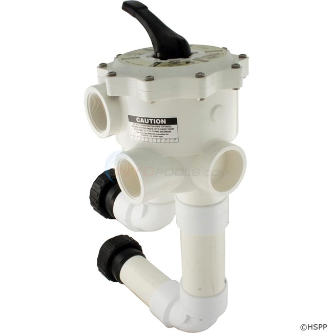 Multiport Valve Side Mount W Unions Ultraclean Pro 2