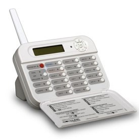 WIRELESS REMOTE, PS-16 TABLETOP - WHITE  PLOG