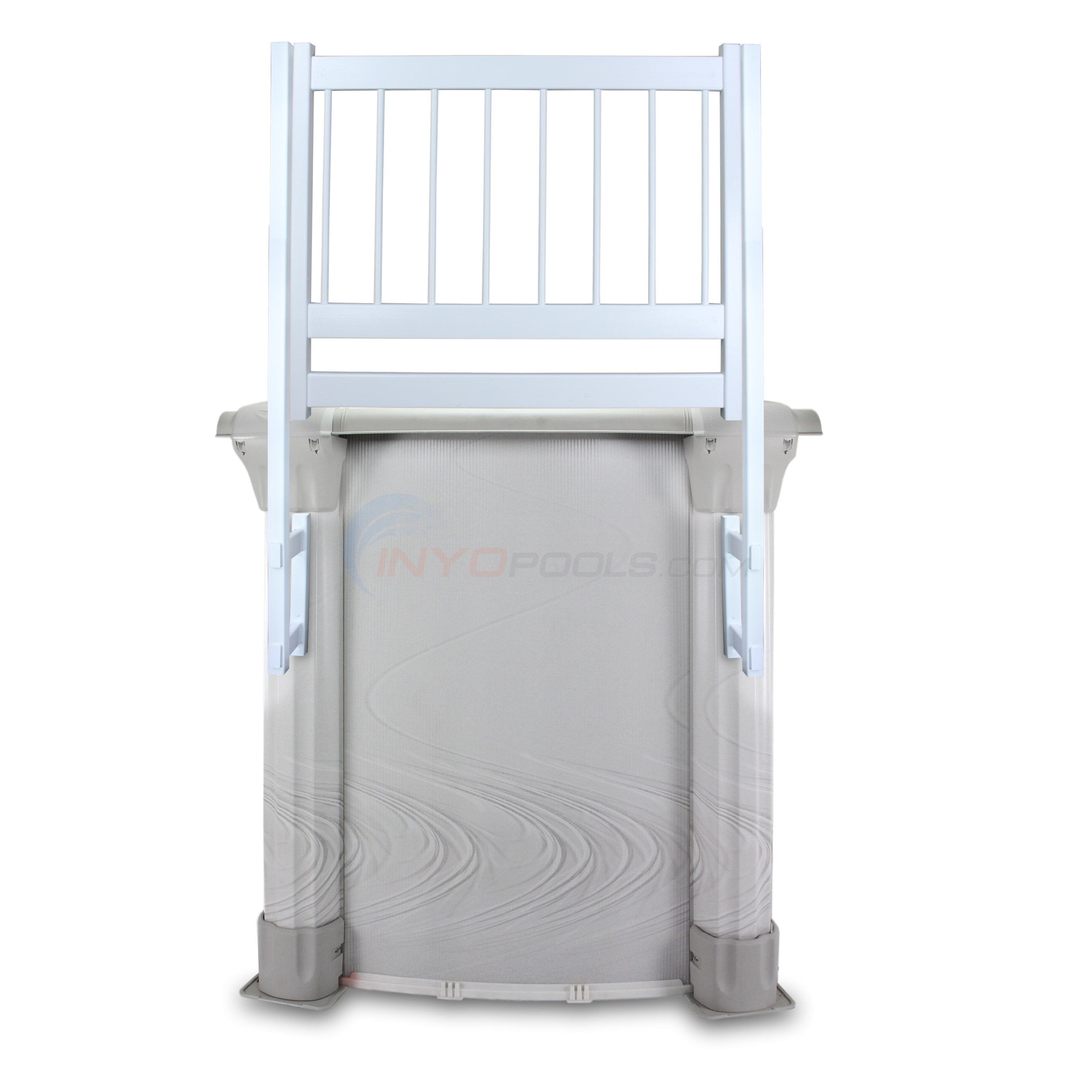 PureLine Resin Pool Fence Gate Section White for Above Ground Pools - PL0098