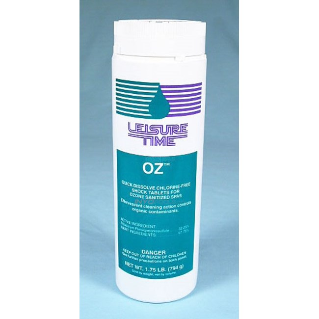 Oz-Chlorine Free Shock Tablets, 1.75 lbs - 31340