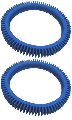 REAR TIRE KIT - TKR-4X (SET OF 2, BLUE)