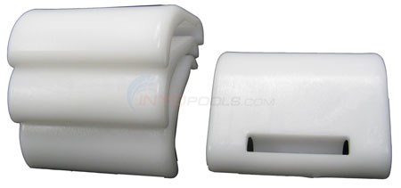 Rear Skirts, White (4 per kit)