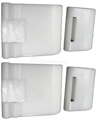 Rear Skirt Kit, White