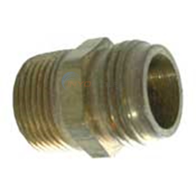 "Anderson Metals Corporation Adapter, Hose 3/4""mhtx3/4""mpt (07478-121208)"