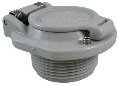 Hayward Vac Lock Safety Wall Fitting - (Gray)