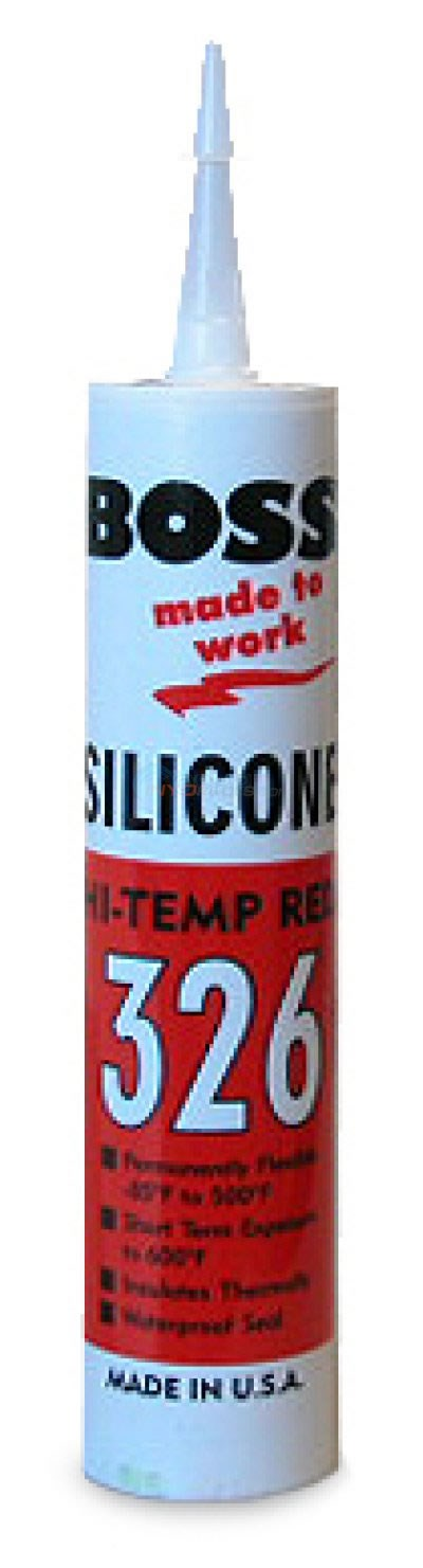 High Temp Red Silicone Sealant - 326