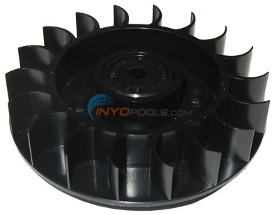TURBINE WHEEL With BLACK BEARING