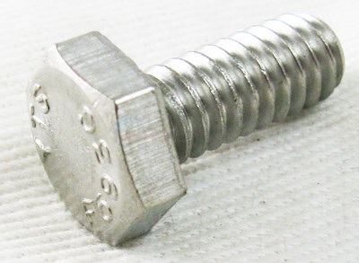 AQV K/C/Q/P SS HEX HD SCREW 1/4-20X5/8""