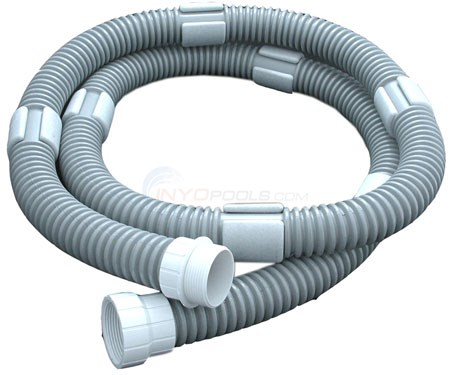 FLOAT HOSE EXTENSION 8' GRAY