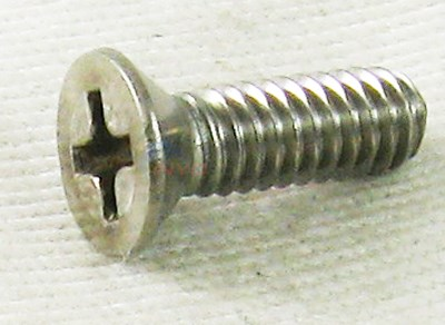 "SCREW (18-8, 8/32"" x ½"", Phil Bev Head, fastens Lock-Tabs to the Body)"