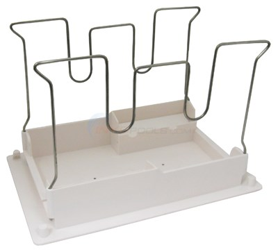 BOTTOM LID ASSEMBLY (White, W-shaped Wire Frame)