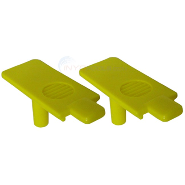 Maytronics Pair Of Locking Plates (9985450-pair)