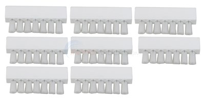POOL BUSTER VACUUM HEAD BRUSHES, SET OF 8