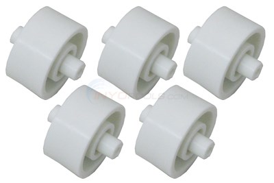 POOL BUSTER VACUUM HEAD WHEELS, SET OF 5