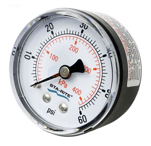 Pressure Gauge, for Posi-Flo II Filter - 33600-0023T