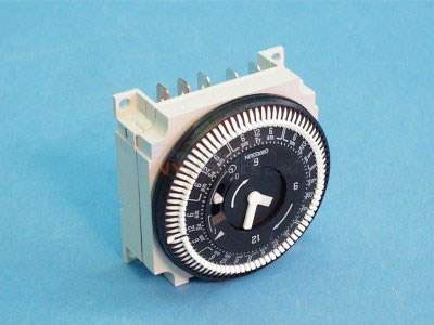 Time Clock, 120V,7Day w/Override - 34-0056