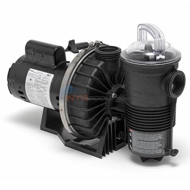 Pentair challenger high pressure pump chii n1 2fe 3ph for High efficiency pool pump motor