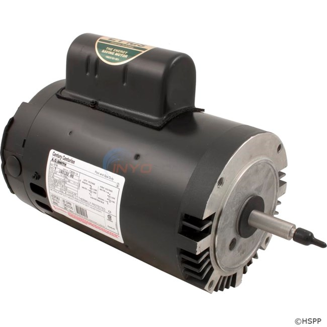 A.O. Smith 1.5 HP Round Flange 56J Full Rate EE Motor - B796
