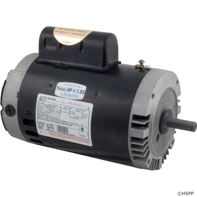 A o smith motor 56c keyed full 1 5 hp b123 for Home depot pool pump motor
