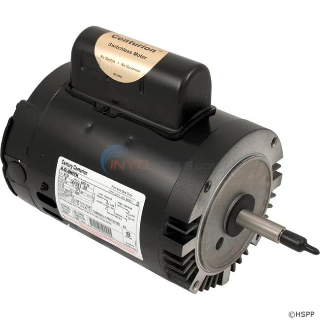A.O. Smith Century 1/2 HP Round Flange 56J Full Rate EE Motor - B126
