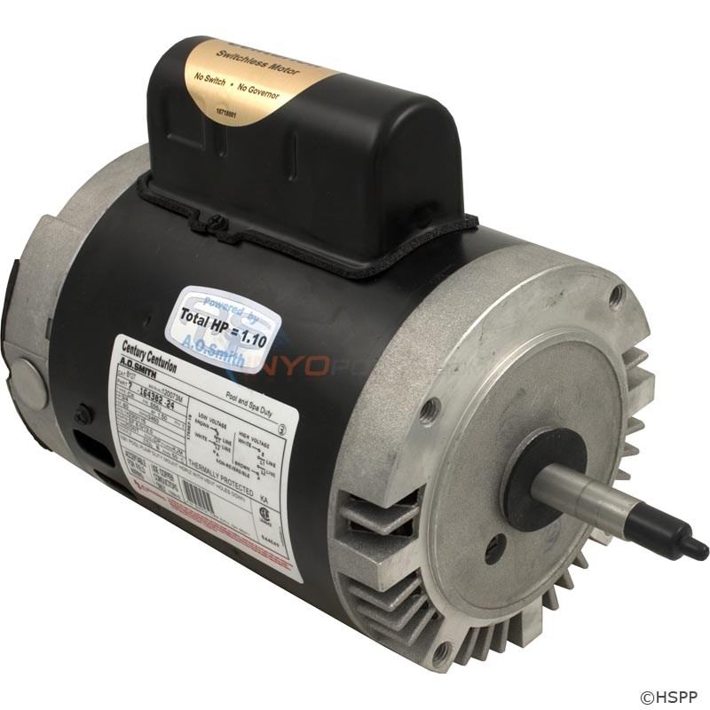 A.O. Smith 3/4 HP Round Flange 56J Full Rate EE Motor - B127