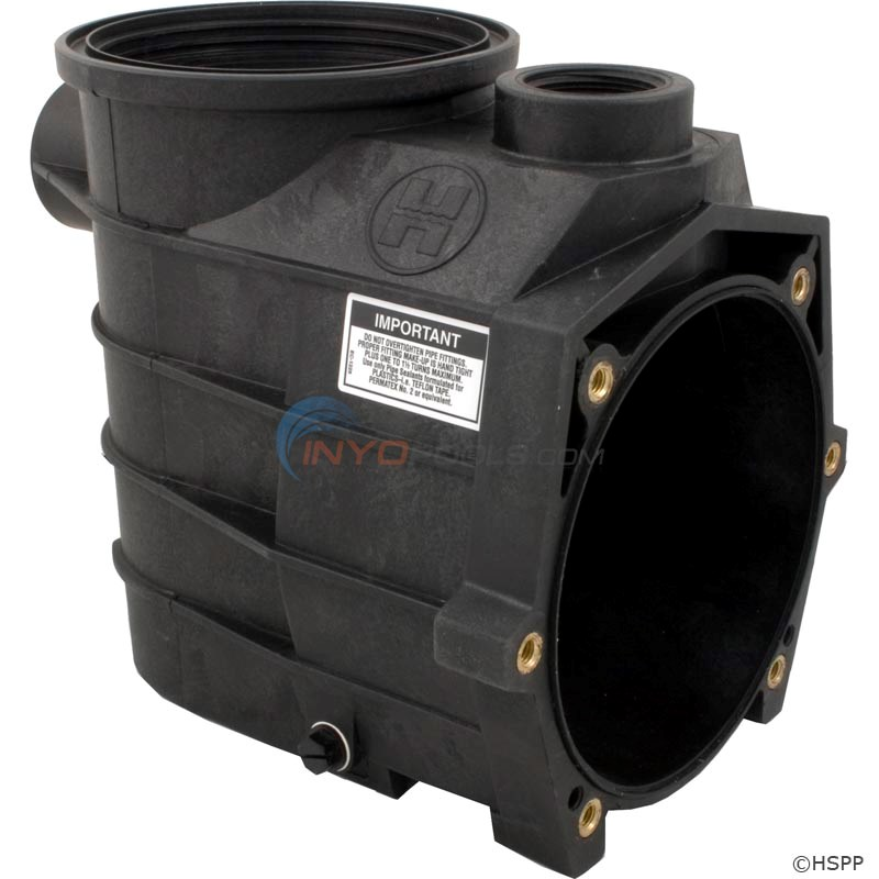 "PUMP HOUSING/STRAINER, 1 1/2"" X 1 1/2"", With DRAIN PLUGS, THREADED STYLE"