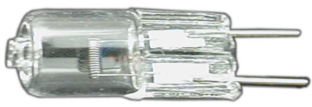 Halco Lighting Bulb, Push In Halogen, 2-Pin Mini Wedge, 12V, 50W - JC50