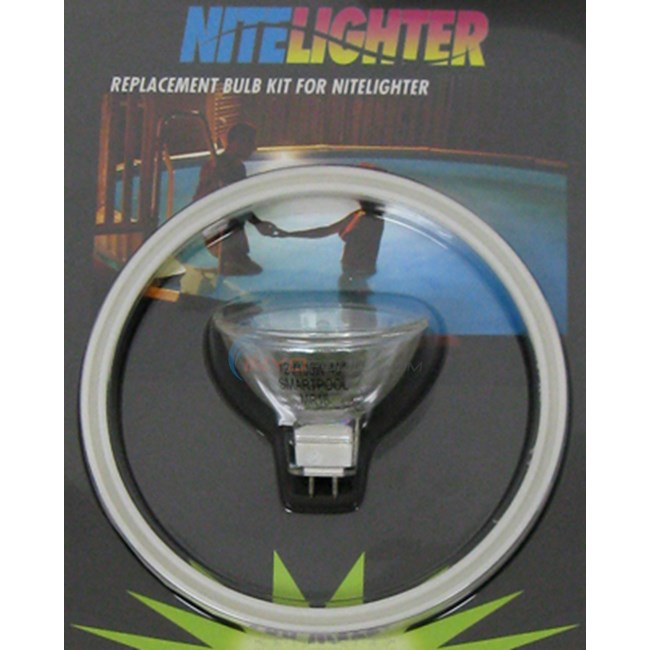 SmartPool Bulb, Nitelighter 100 Watt Kit, Round Model (nlk8)