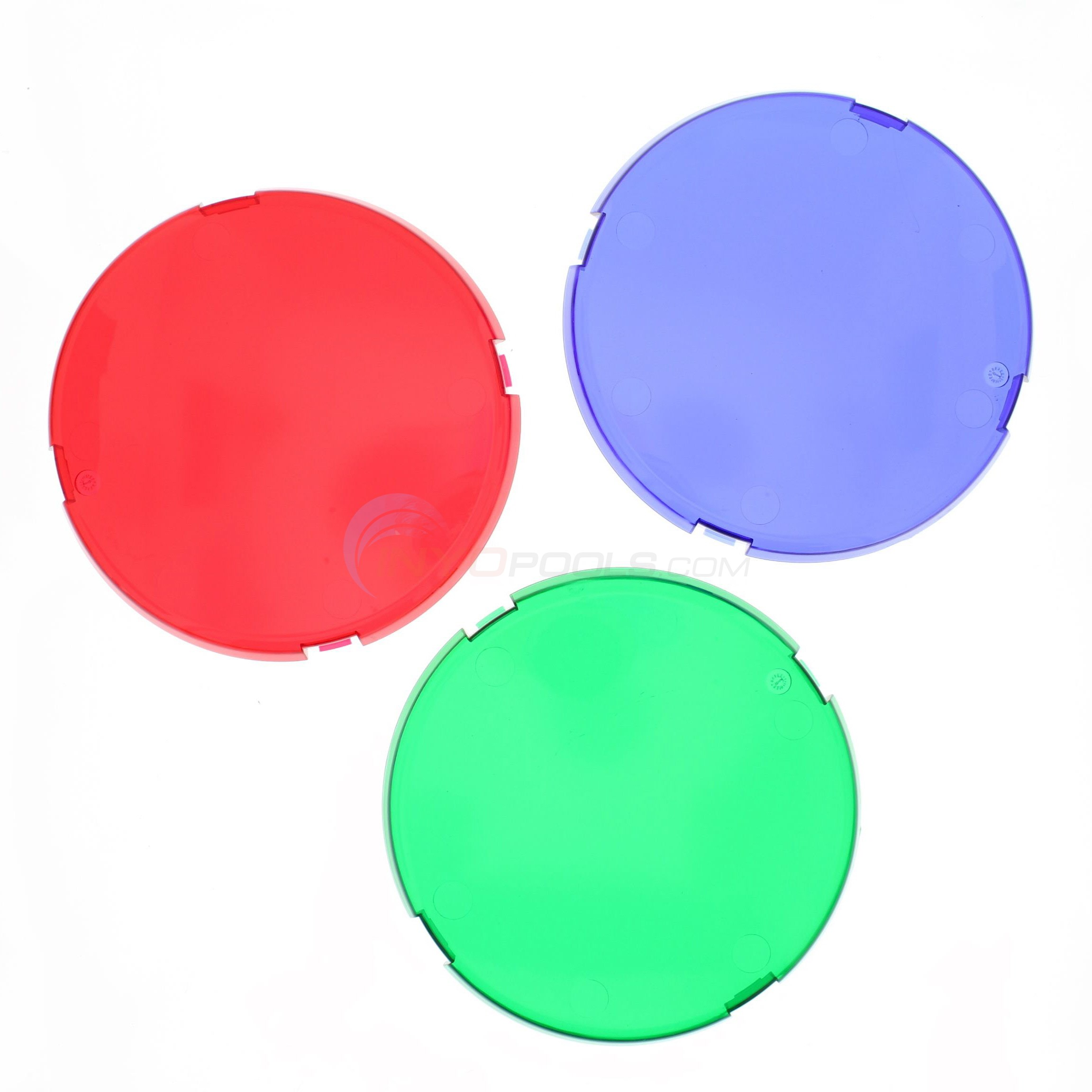 Pentair Aqualumin III Lens Cover - (set Of 3 Colors) (600140) - 3527-13