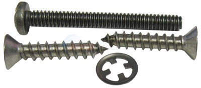 SCREW SET, FACE RIM LARGE COLORLOGIC
