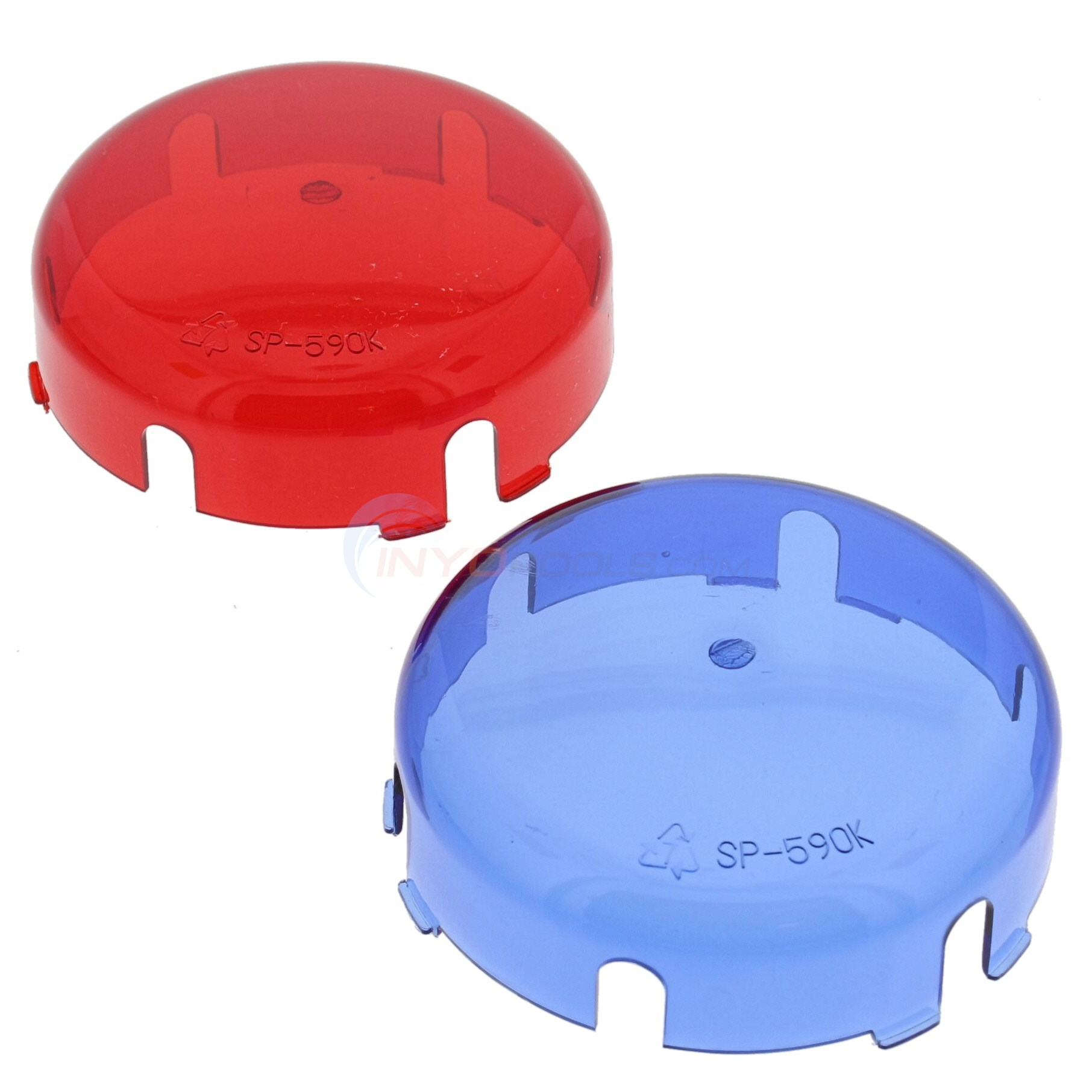 Lens Cover Kit, Blue And Red (spx0590k)