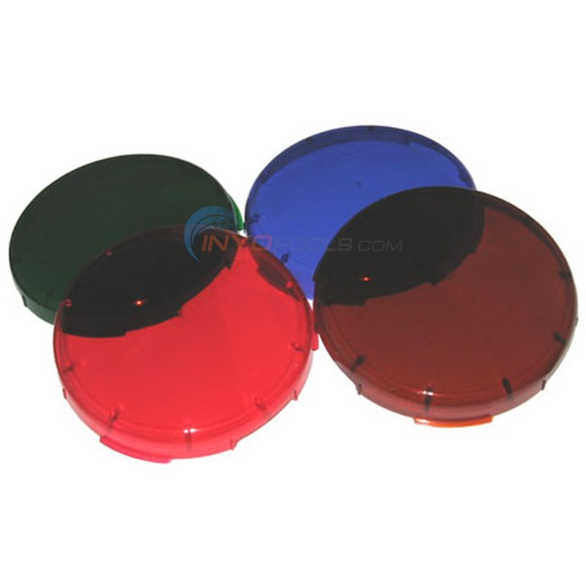 Pentair Plastic Snap-on Color Lens Kit(blue, green, red) - 78900100