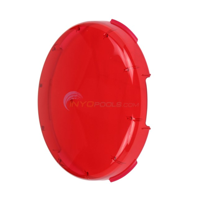 Pentair Lens Cover, Kwik-change (red) (78900900)
