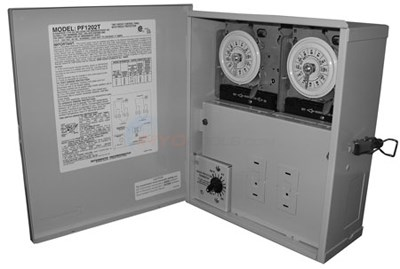 Intermatic Dual Timeclock W/freeze Protection (pf1202t)