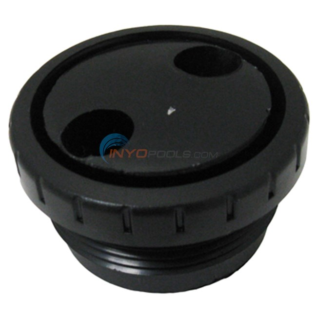 "Waterway Rotating Eyeball Assy;black;1-1/2"" Mpt (212-9171)"