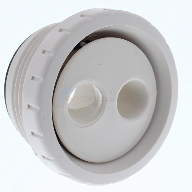 "Waterway Rotating Eyeball Assy; White; 1-1/2"" Mpt (212-9170, 212-9170B)"