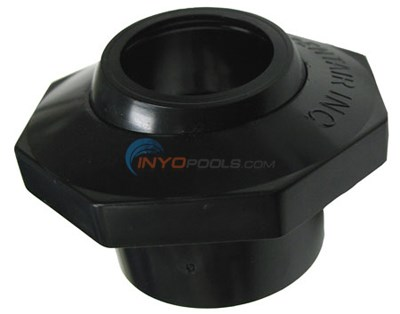 "Inlet,eyeball 1 1/2"" Slip Black"
