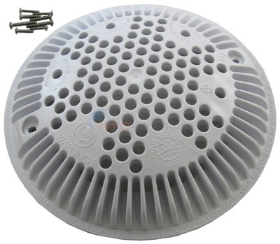 OUTLET SUCTION COVER, WHITE, ANSI OK