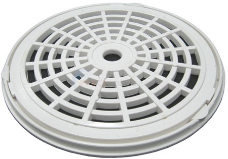 "GRATE & RING GRATE IS 7 5/8"" DIAMETER"