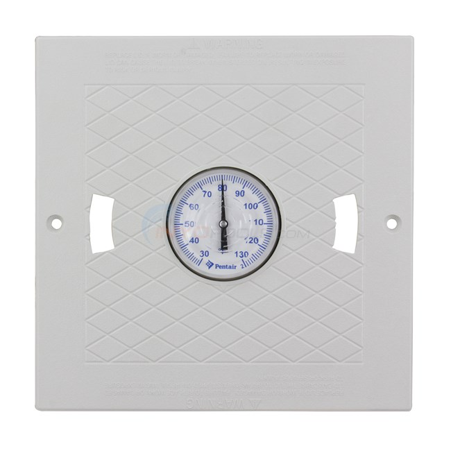 Pentair Lid, Hayward Square w/ Thermometer - White - L3