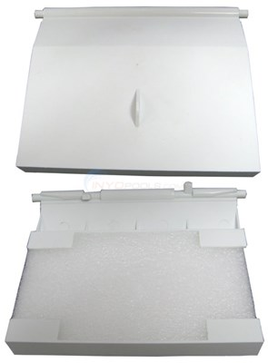 SKIMMER WEIR WITH FOAM-WHITE