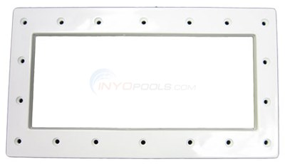WIDE MOUTH FACE PLATE-WHITE